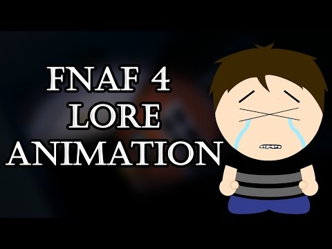 Five Nights at Freddy's 4 - Hidden Lore - South Park Animation