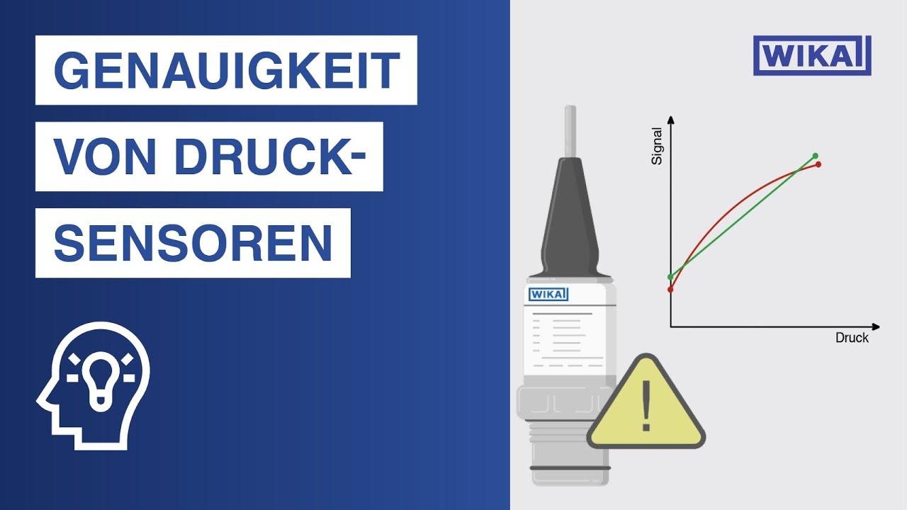 Genauigkeit von Drucksensoren | Auf diese 3 Fehler müssen Sie achten!