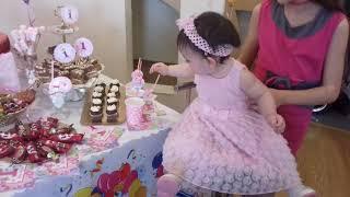 Каролине - 1 годик!!! Королевская вечеринка в розовом для принцесс! 03.02.2018