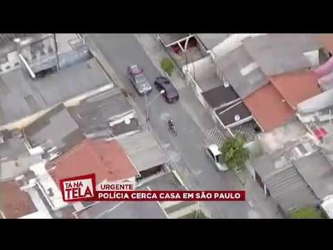 Perseguição policial AO VIVO