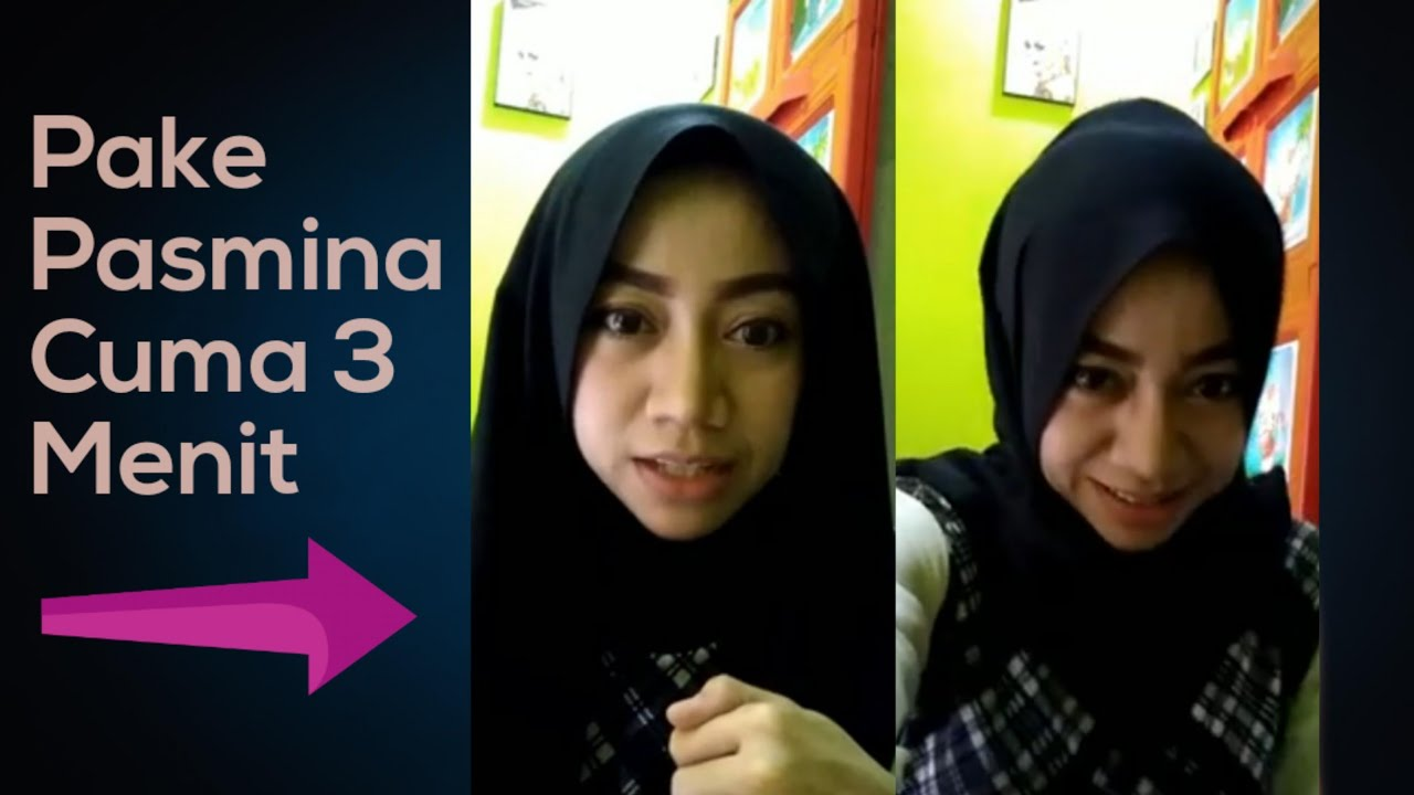 Tutorial Hijab Pashmina Hang Out Simple Gampang Banget YouTube