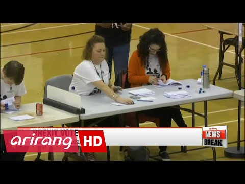 ARIRANG NEWS BREAK 10:00 Early Brexit results show Leave vote in the lead