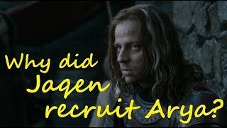 Download Why did Jaqen recruit Arya? (Game of Thrones, ASOIAF) Mp3 and Videos