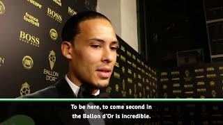 Virgil van Dijk happy with incredible second-place achievement for Ballon d39Or