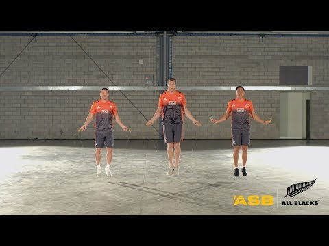 Home buying tip 2 with the All Blacks synchronised skipping | ASB