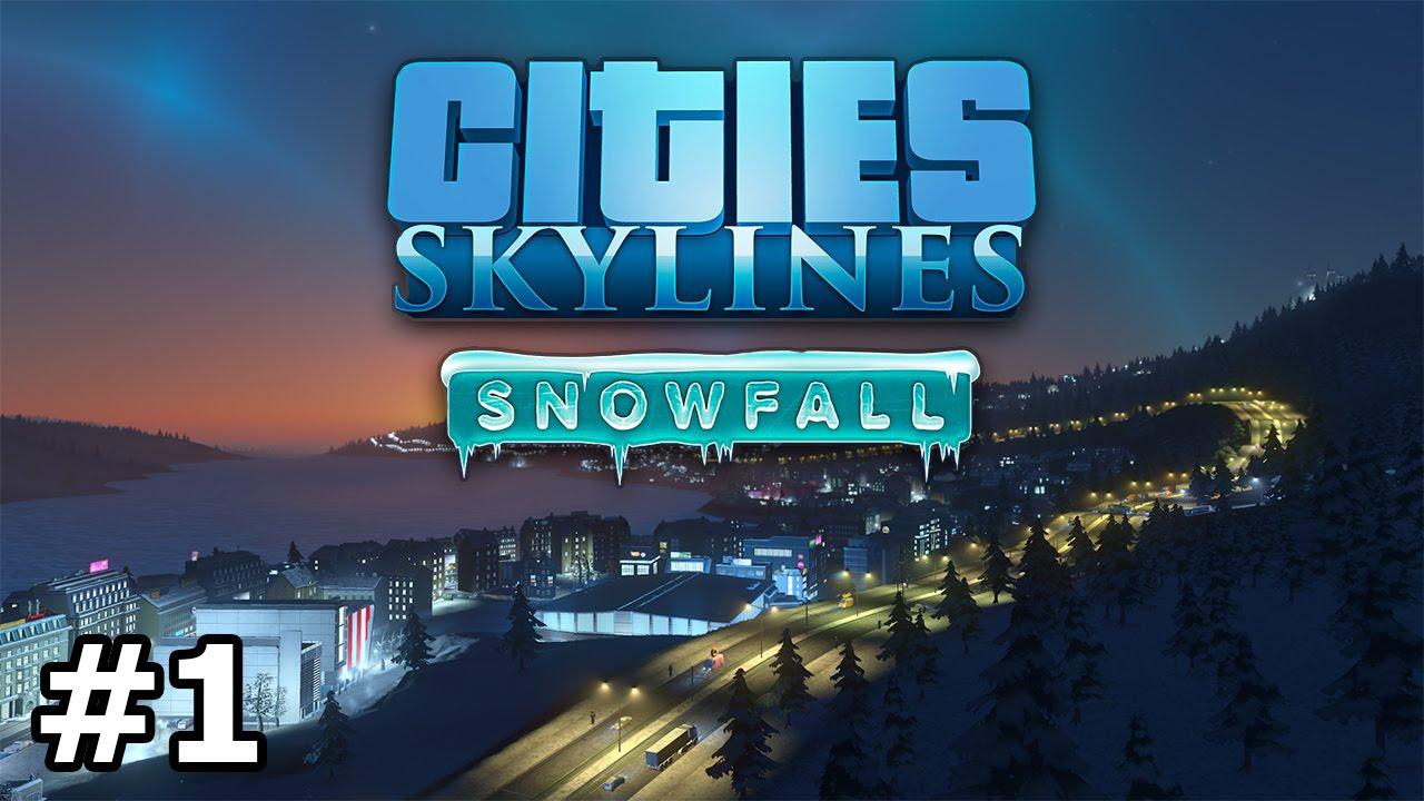 Cities: Skylines - Snowfall - Intro & Heating - PART #1 - YouTube