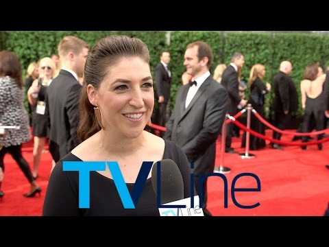 "Thumbnail: Mayim Bialik ""Big Bang Theory"" Interview at Emmys 2015 - TVLine"