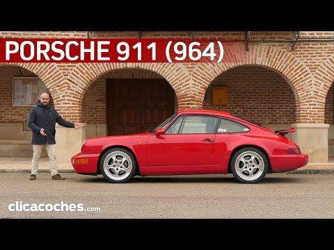 Porsche 911 Carrera 4 (964)   Prueba Clásica   Review en español   4K - Clicacoches.com