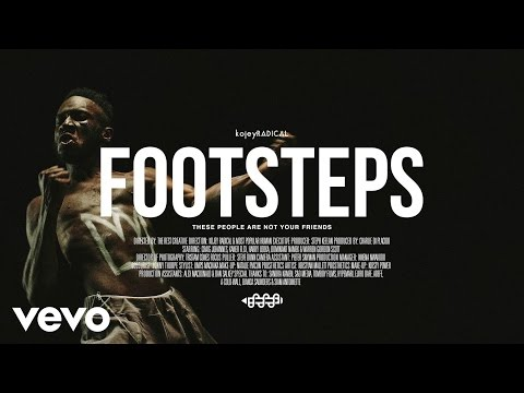 preview Kojey Radical - Footsteps from youtube
