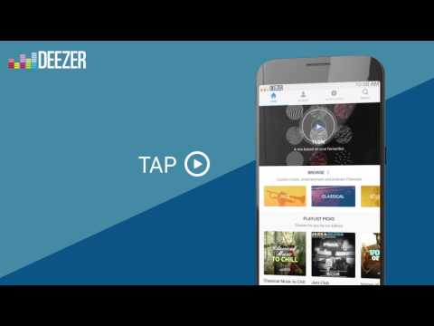 How to use Deezer