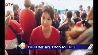Kedatangan Maria Ozawa Kejutkan Suporter saat Laga Indonesia vs Thailand - BIP 27/11