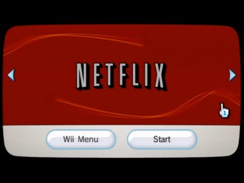 Netflix for Wii  First UK footage  Netflix Europe