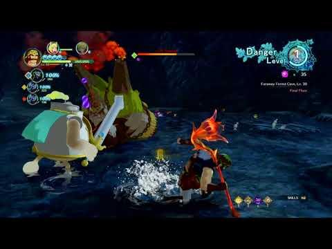Ni no Kuni™ II: Revenant Kingdom OP poison build easy 10 dream maze boss kill |