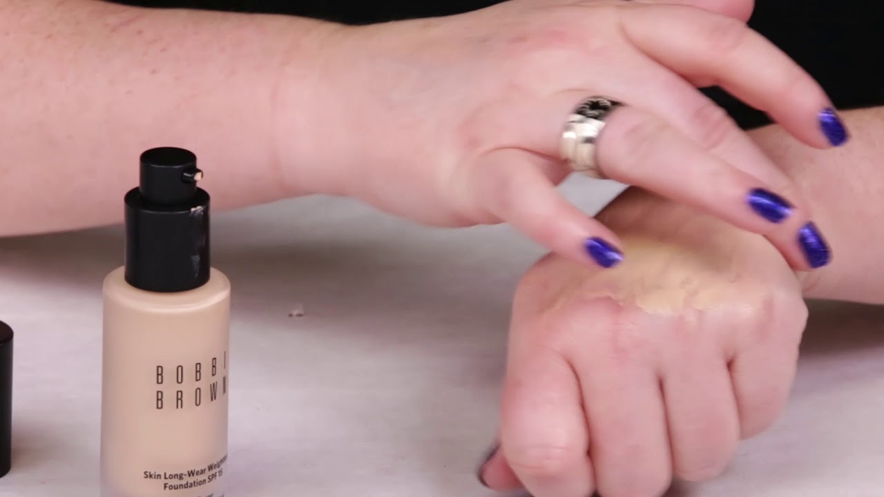 Bobbi Brown Skin Long Wear Weightless Foundation With Spf Review