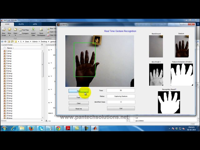 Top 10 Gesture recognition projects with free source code