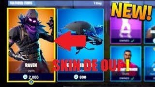 "FORTNITE TOP 1 AVEC LE SKIN ""CORBEAU"" !"
