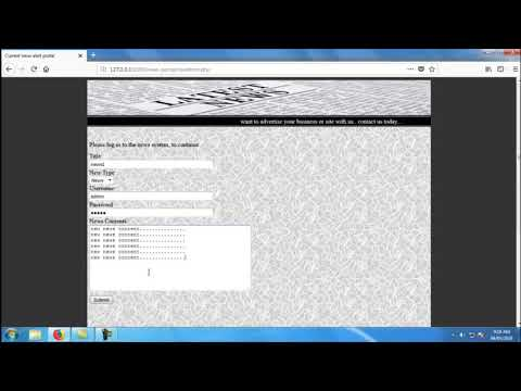 Current News Update Management System | Student Projects