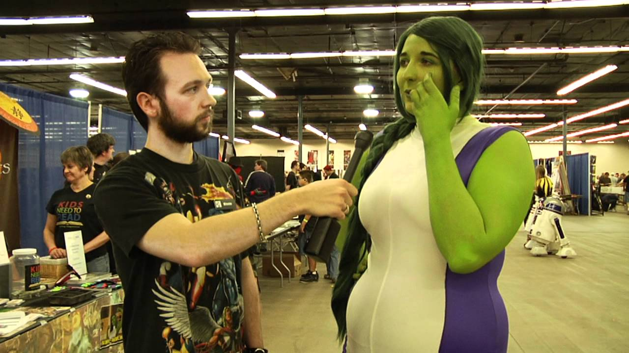 sc 1 st  YouTube & TCC Interview: She-Hulk Cosplayer (Whitney) AZ Avengers - YouTube