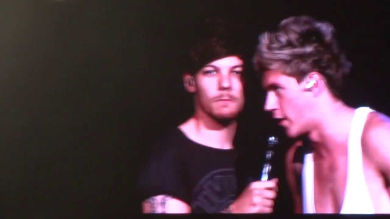 Louis talking and show...