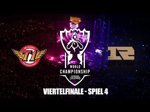 SK Telecom T1 vs. Royal Never Give Up - Viertelfinale, Spiel 4, World Championships 2016