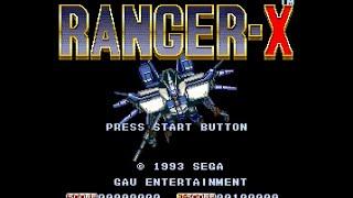 Mega Drive Longplay [207] Ranger-X
