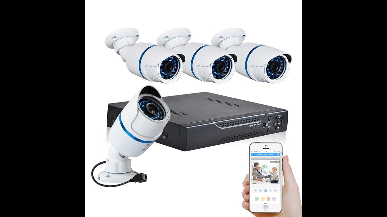JOOAN TC-704NVR-4Y 4CH POE IP Camera surveillance System Operation Guide