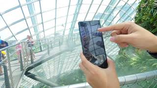 Samsung Galaxy Note 9 Unboxing and Review In Gardens by The Bay Cloud Forest, Singapore!