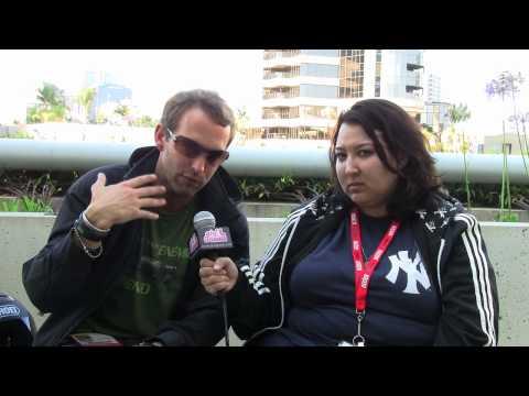 SDCC '10  Meet Dead Space 2's Gunner Wright