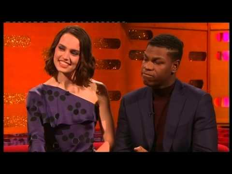 Download Youtube: STAR WARS The Force awakens - Daisy Ridley and John Boyega interview