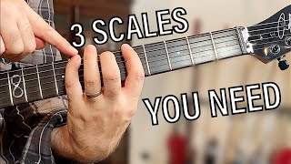 You cannot exist without these - 3 Scales lesson