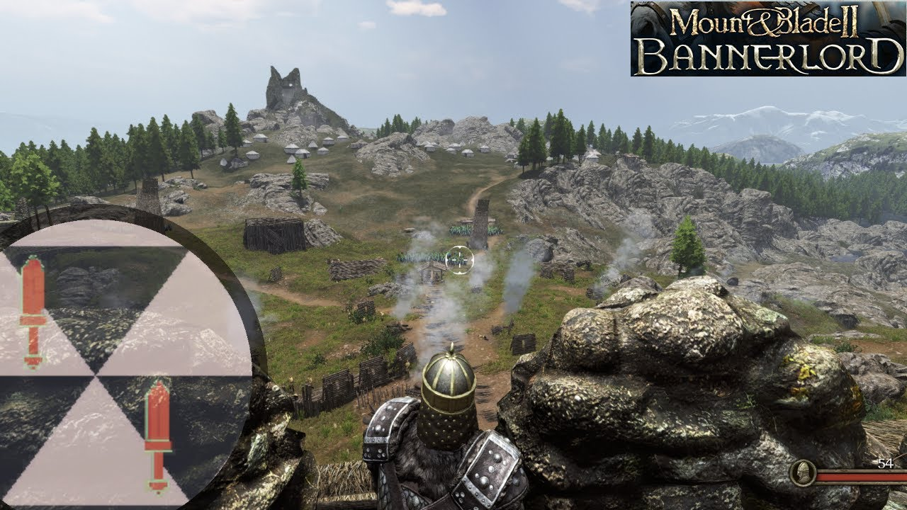 Mount and blade II Bannerlord 500 vs 500 Siege battle: 4k Gameplay Max settings RTX 2080 Ti