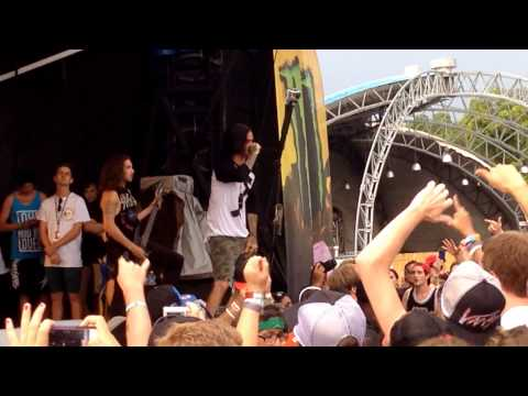 Like Moths to Flames - Warped Tour Orlando 2013 - The Worst in Me
