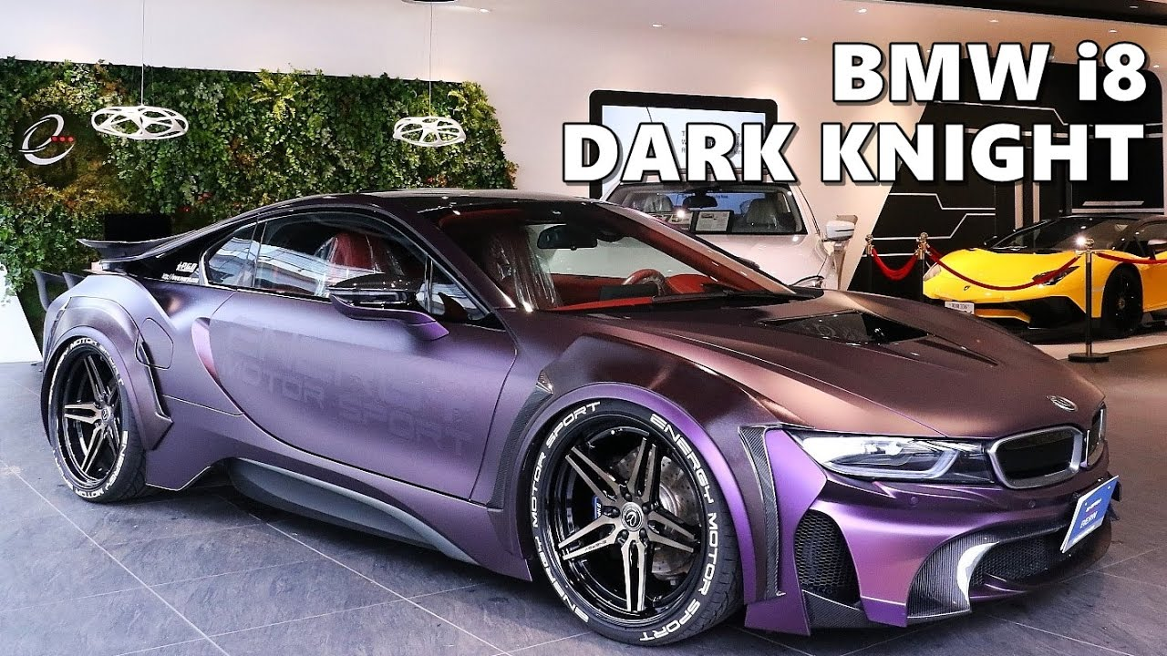 Bmw I8 Dark Knight Edition By Garage Eve Ryn Youtube