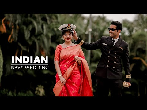 Indian Navy Wedding | A Soldier's LOVE