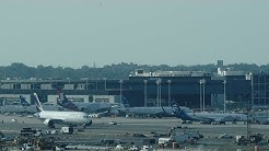 New York JFK Airport Live with ATC