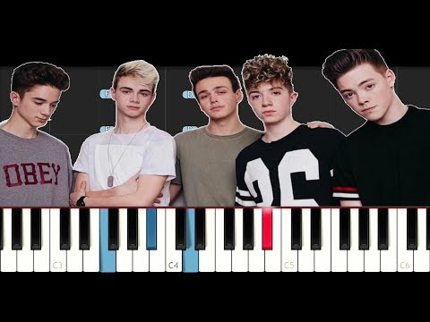 Why Don't We - Hey Good Lookin (Piano Tutorial)
