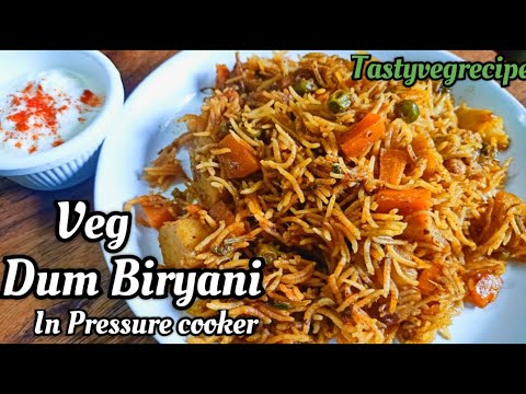 veg-dum-biriyani-in-pressure-cooker-|-quick-and-easy-one-pot-meal-for-lunch-and-dinner