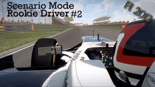 F1 2013 - Scenario Mode - Rookie Driver: It