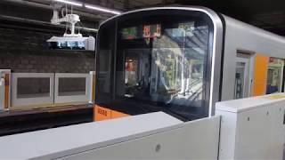 東武50050系 50060編成 青葉台にて(発車ベルあり)
