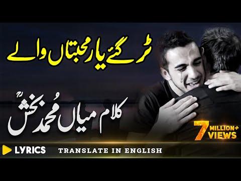 Kalam Mian Muhammad Bakhsh Punjabi | Saif ul Malook | Tur Gaye Yaar | Sufi Kalam | Fsee Production