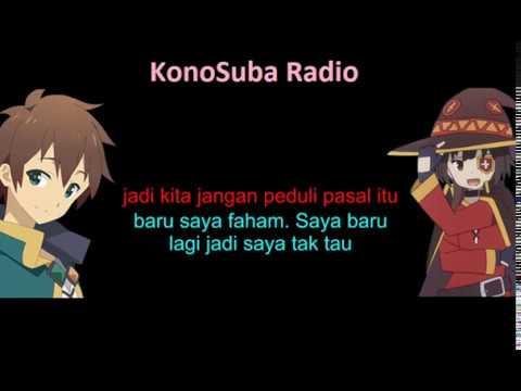 [Malay sub] Konosuba Radio 1.2 - Suasana Tempat Kerja