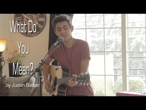 Justin Bieber - What Do You Mean? Cover by Kyson Facer