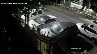 Rich Gang of Car thieves Caught on Camera Pitampura 2018 Cctv footage...Share.. Subscribe..💐