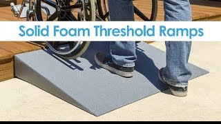 Silver Spring Lightweight Solid Foam Threshold Ramp Youtube