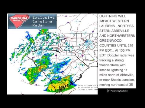 Carolina Weather Group Live