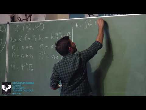 TMS17. Adolfo Grushin. High-energy physics methods for condensed matter physics (I)