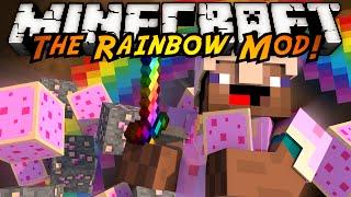 Minecraft Mod Showcase : THE RAINBOW MOD!