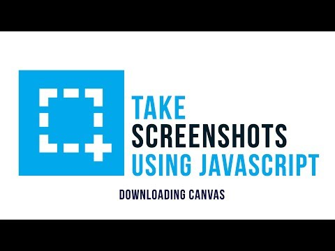 Take Screenshots Using Javascript : Downloading Images
