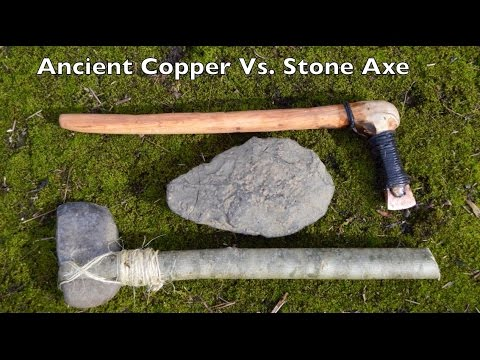 Ancient Stone vs. Copper Axe