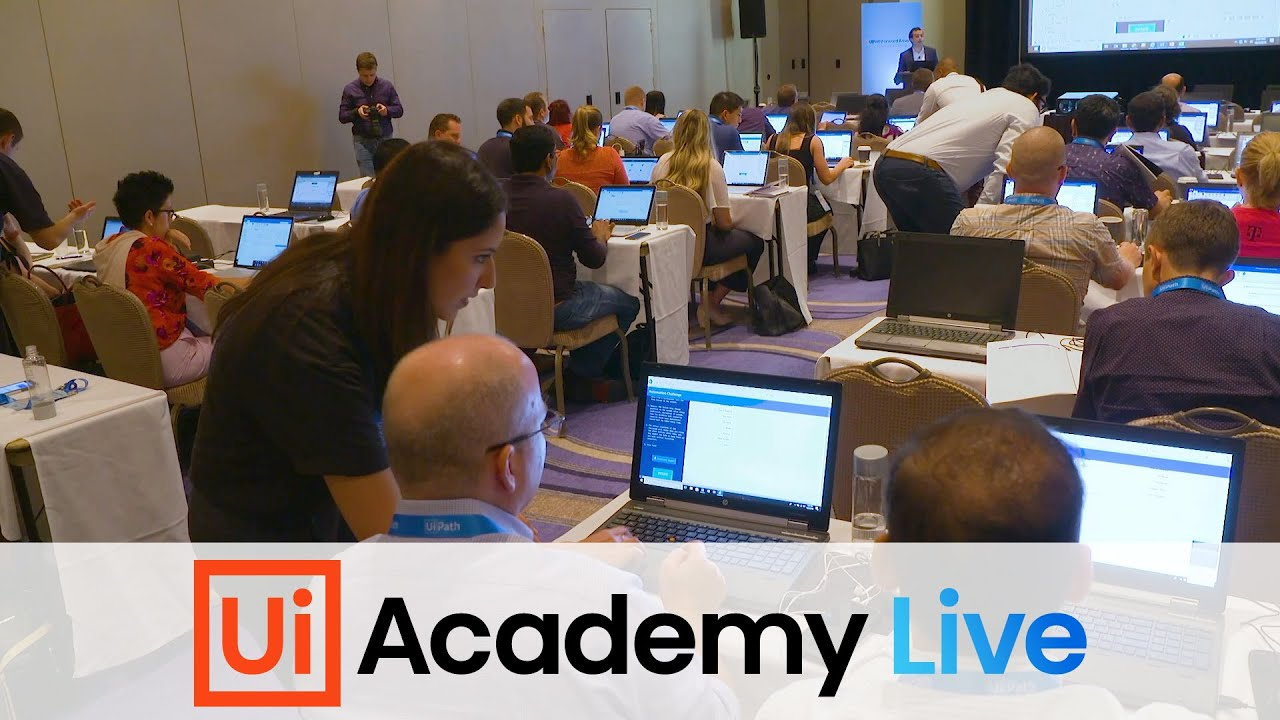 Learn RPA Firsthand from the experts at Academy Live!